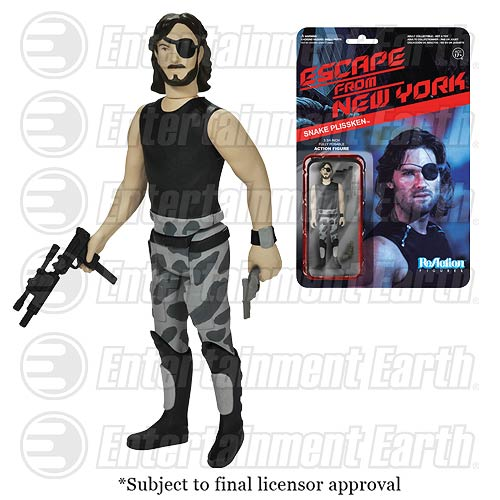 funko reaction snake plissken action figure