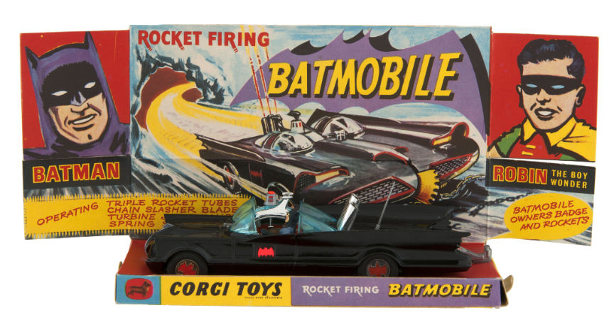 corgi batmobile 267