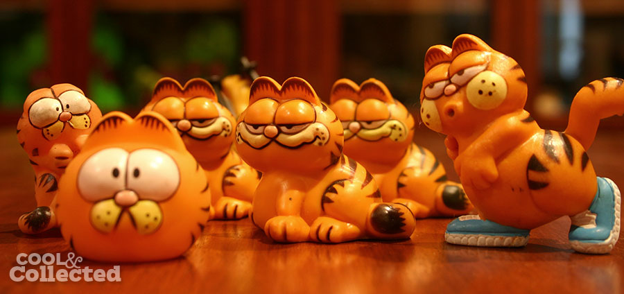 garfield pvc figures 1981