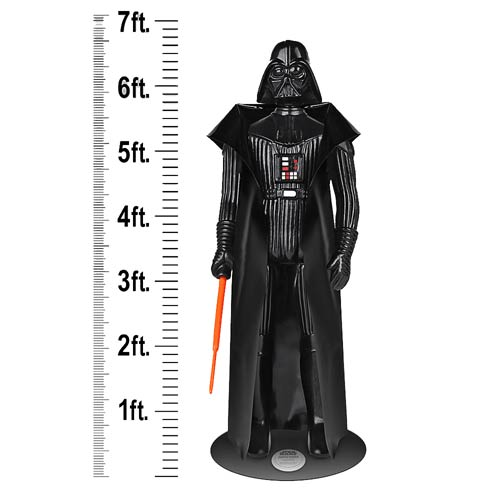 life size darth vader action figure