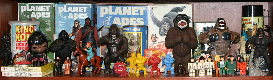 planet of the apes and king kong collection