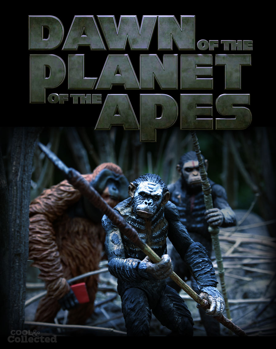 dawn of the planet of the apes mock poster