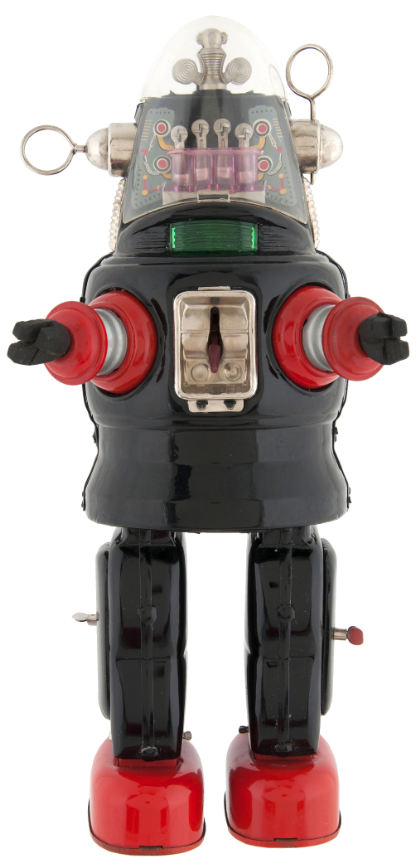 forbidden planet mechanized toy robot