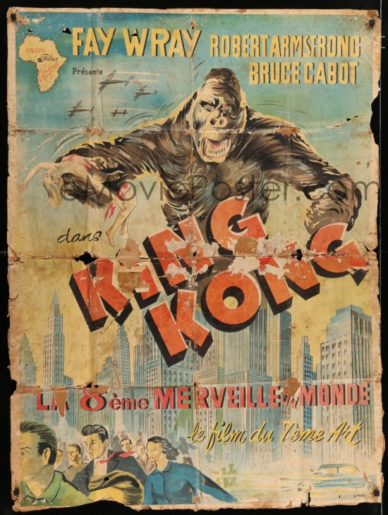 belgian king kong movie poster