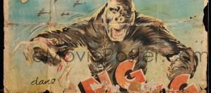 belgian congo king kong poster