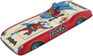vintage japanese friction batmobile