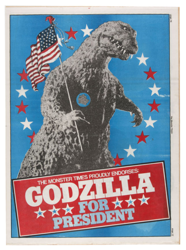 monster times magazine godzilla