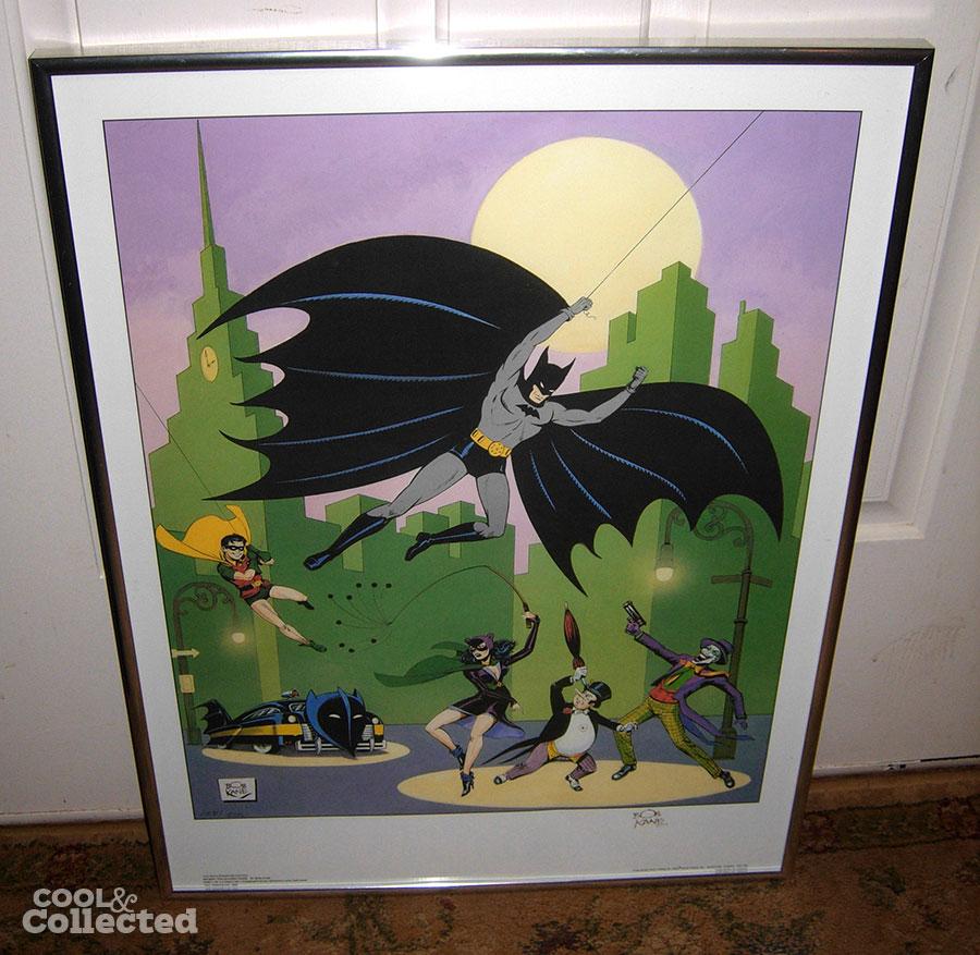batman bob kane signed print