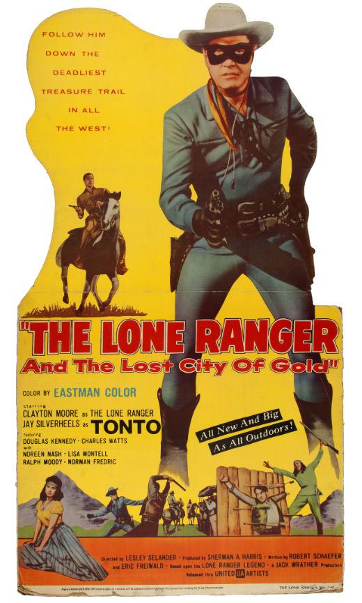 lone ranger standee