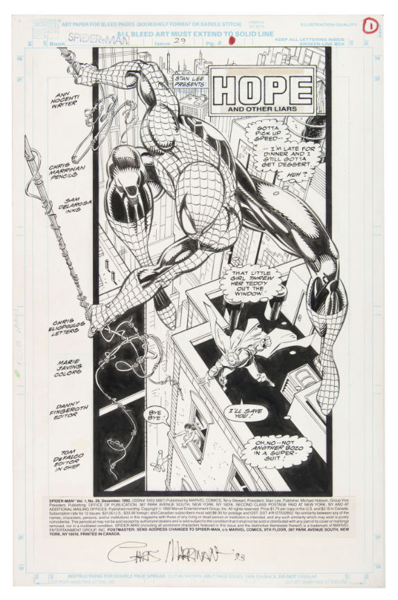 spiderman-original-art