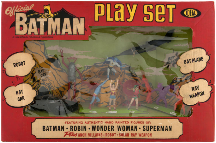batman play set by ideal