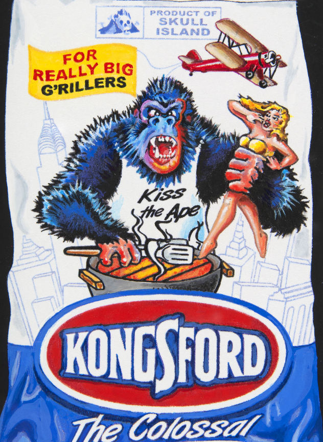 kongsford original wacky packages art