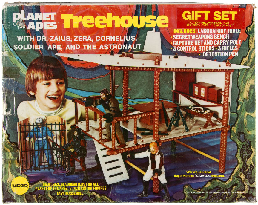 planet of the apes treehouse-mego