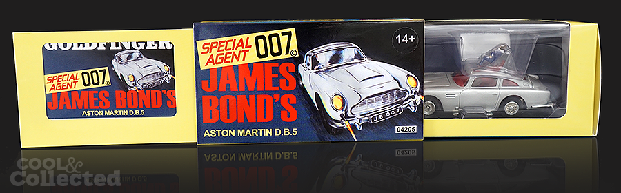 corgi hornsby aston martin db5 - James Bond 007