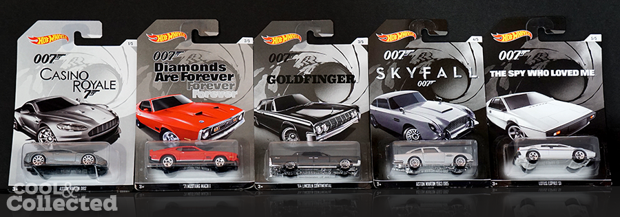 hot wheels james bond 007 series