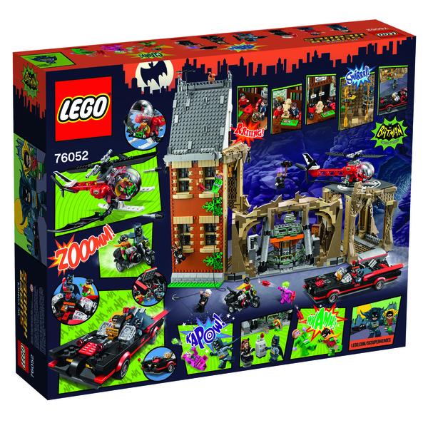 Lego classic batcave back