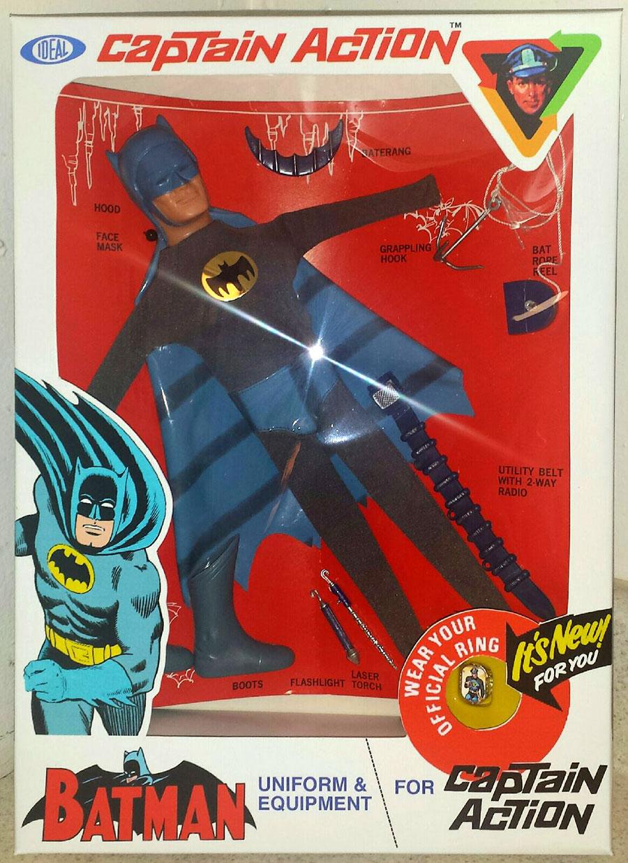 batman ideal captain action