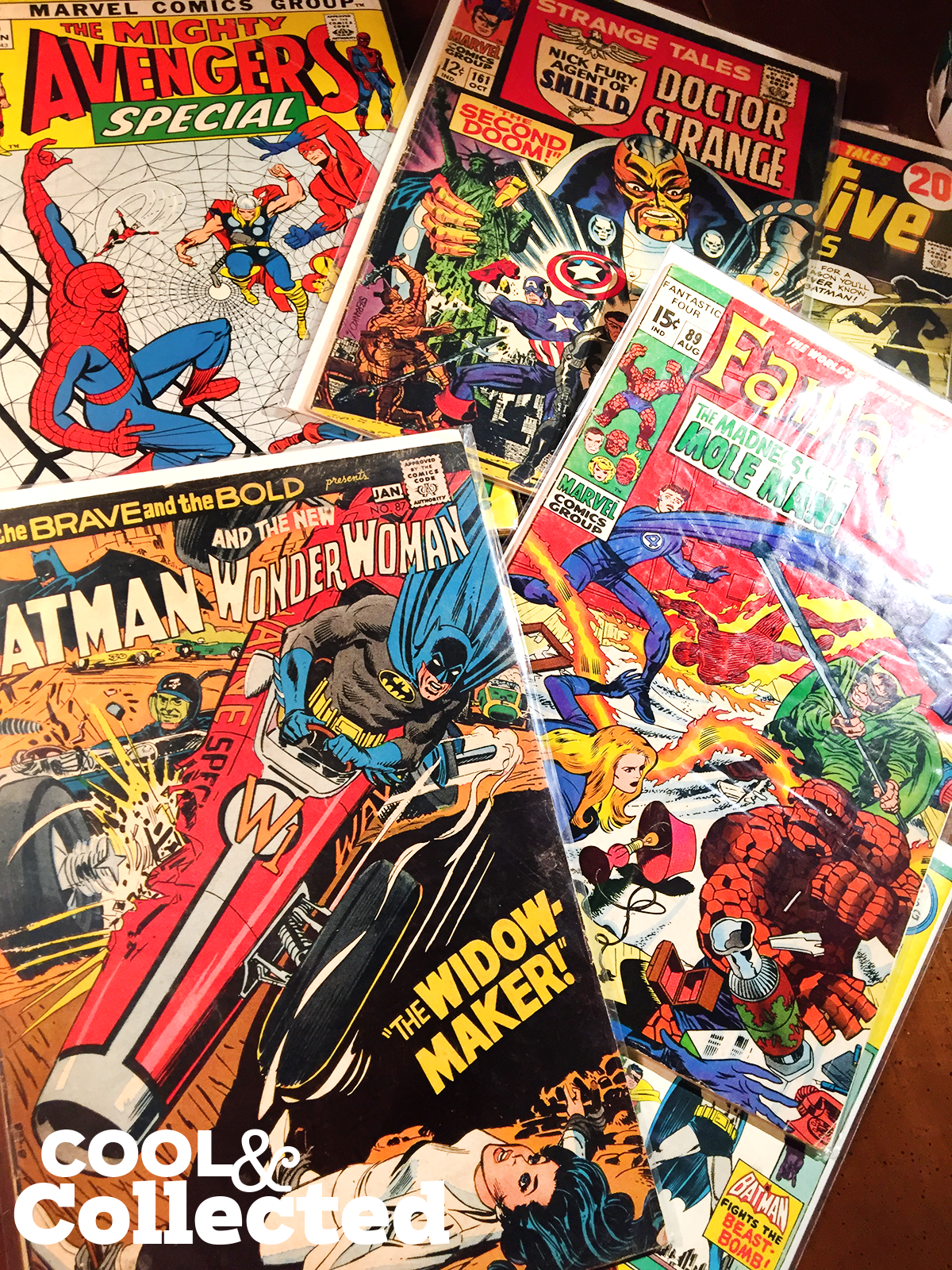 I suck at collecting comic books
