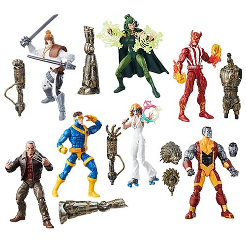 marvel legends xmen wave 2