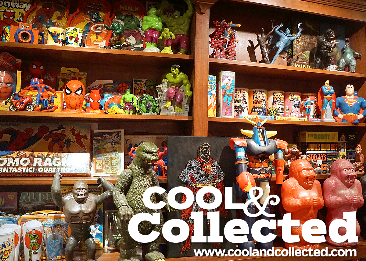 cool and collected vintage toy collection on display