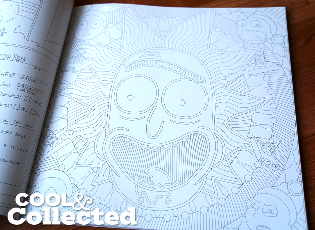 Rick Morty Official Coloring Book