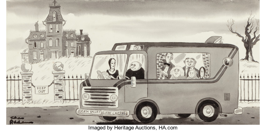 charles addams illustration