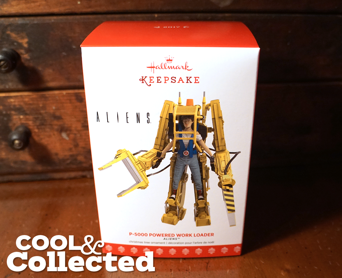 hallmark alien ornament power loader