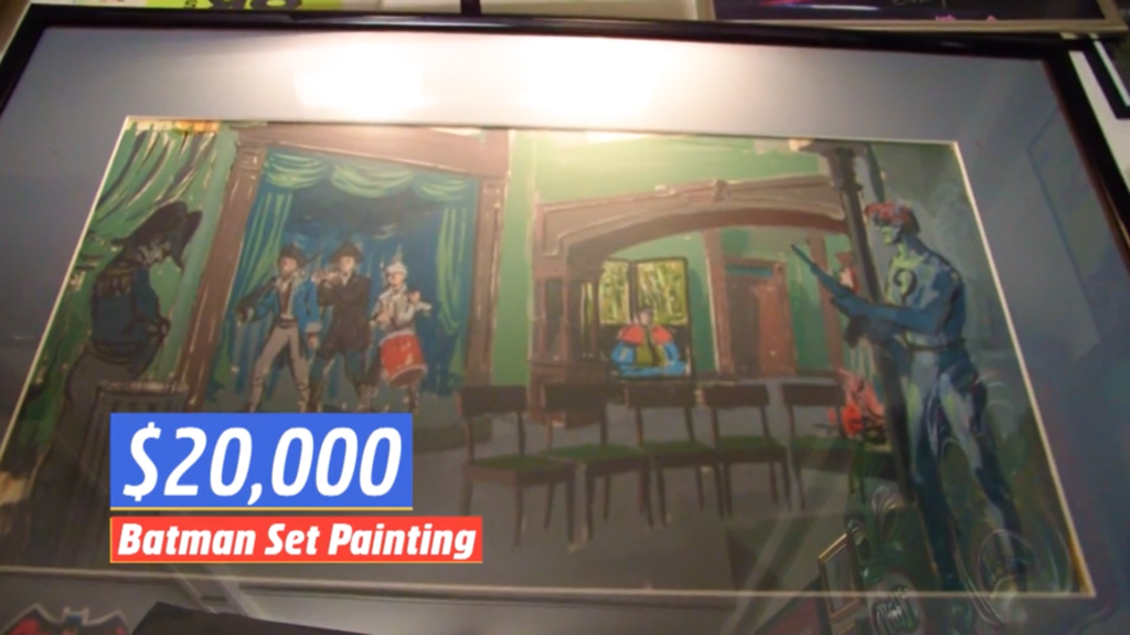 Batman tv series set painting