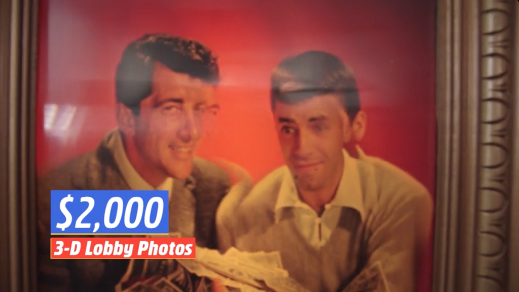 Martin and Lewis lenticular photo