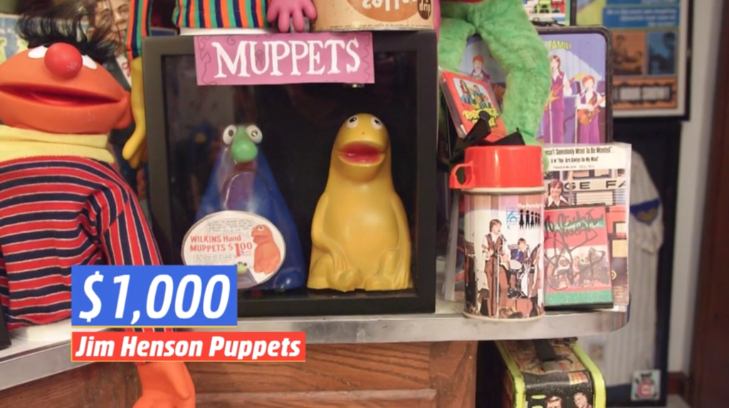 Willkins and Wontkins figures muppets