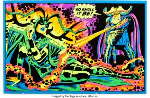 Marvel Third Eye Blacklight poster