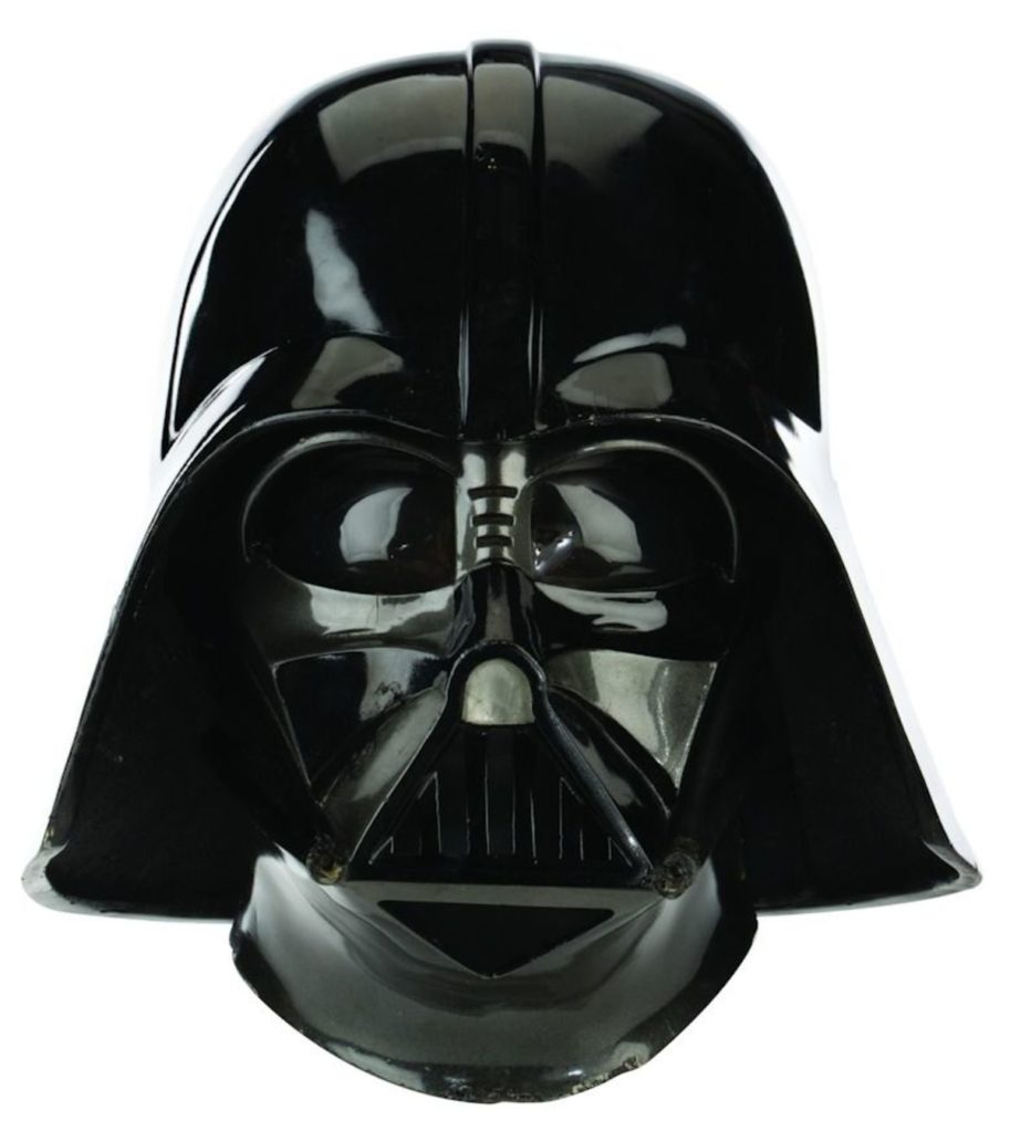 Dave Prowse Darth Vader Helmet from Star Wars: the Empire Strikes Back