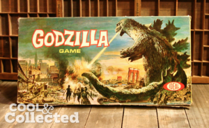 Godzilla board game by Ideal 1964