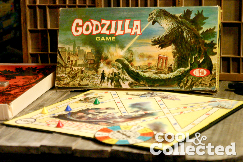 Godzilla board game by Ideal 1963