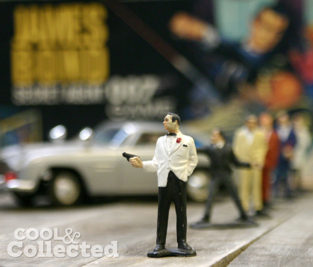 James Bond 007 figures by Gilbert