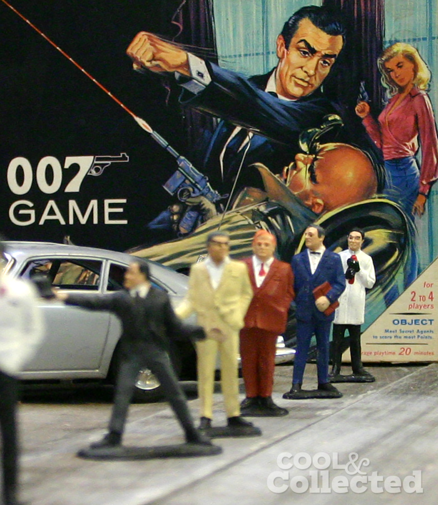 James Bond 007 villains figures by Gilbert