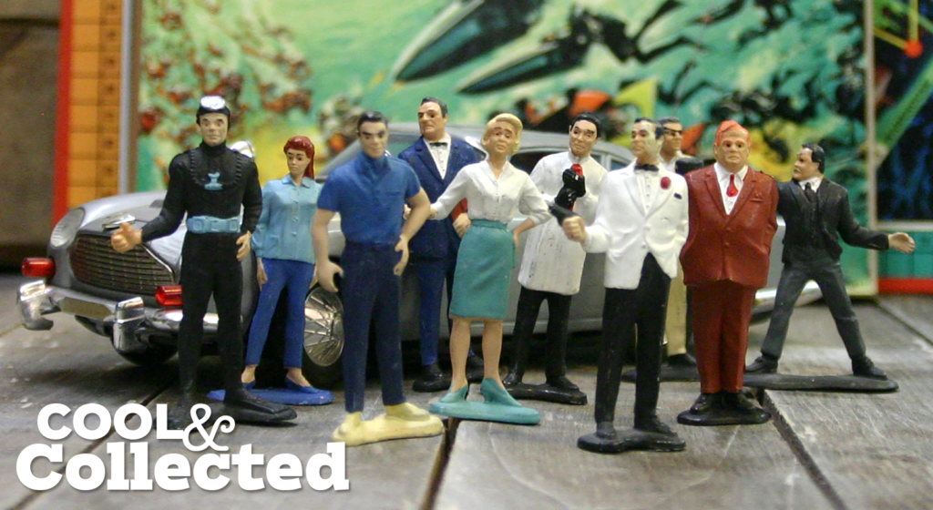 James Bond 007 figure collection by Gilbert
