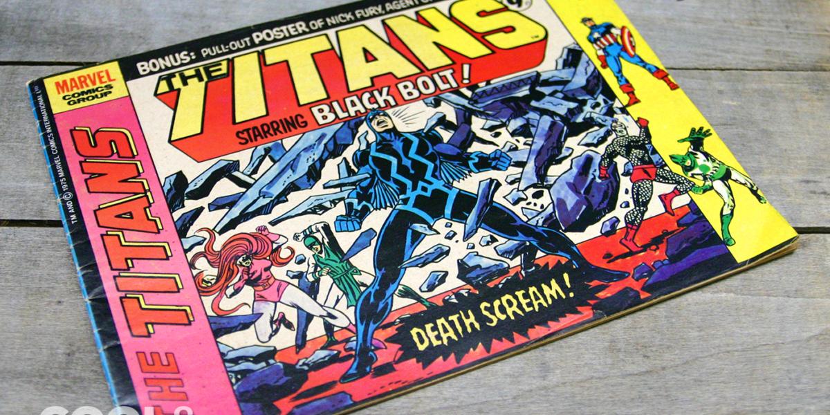 Titans #5 UK edition