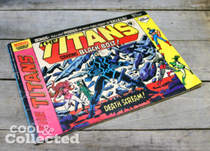 Titans #5 UK edition