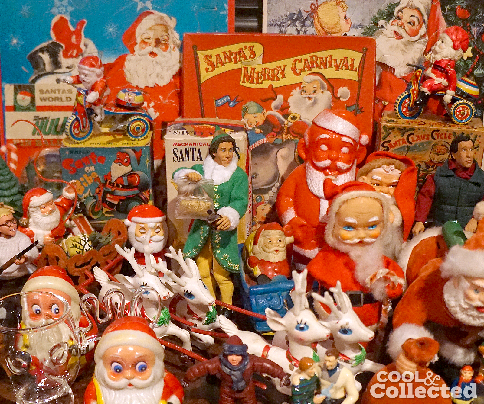 Christmas collection on display
