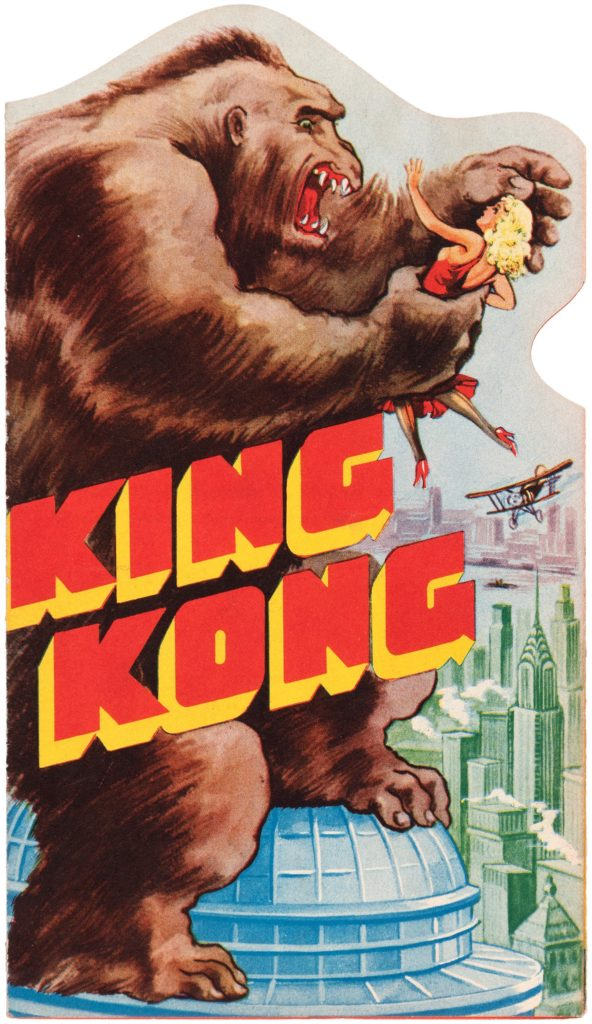 King Kong Die cut movie herald