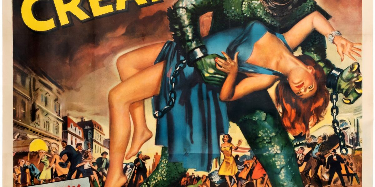 Revenge of the Creature 6-sheet movie poster