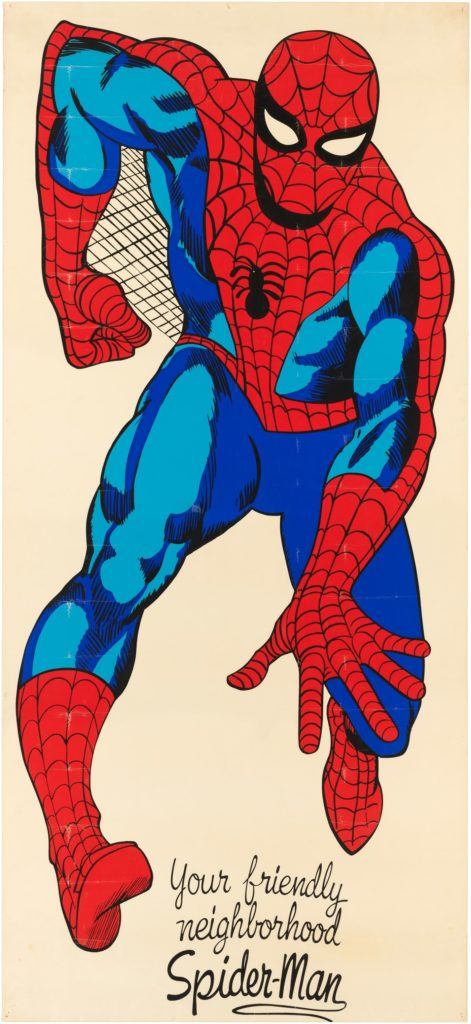 Spiderman door poster marvel mania