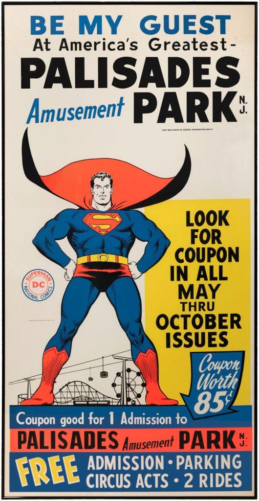 Superman Palisades Park poster